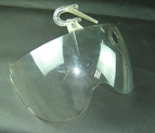 High Polish Plastic Injection Mold for Transparent Helmet Lens