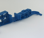 Precision Plastic Injection Mold with Many Shut-offs and Inserts