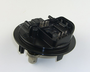 Precision Automotive Fuel Pump Component with Insert Overmolding