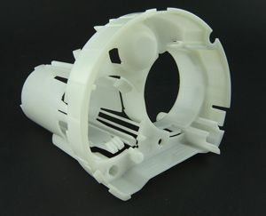 Automotive Plastic Injection Mold with Precision Shut-offs